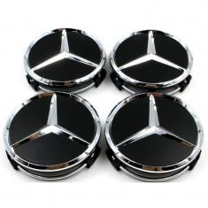 Capace jante Mercedes negre(black look) - Capace janta