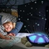 Broscuta Lampa de veghe Twilight Turtle cu proiectie - Lampa veghe copii, Verde