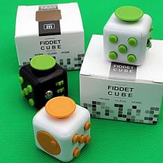 Fidget cub - Cub Rubik - Jucaria Antistres - Jocuri Logica si inteligenta