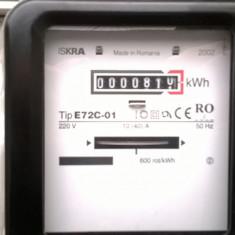 Contor monofazat ISKRA electromagnetic