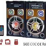 Set 2 Boxe Active,sistem Audio cu Bluetooth, Radio FM, mp3 USB 60W Ailiang