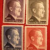 GERMANIA (REICH) 1942 – PORTRET ADOLF HITLER, serie nestampilata FARA GUMA, A88