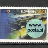 Slovenia.2003 Inaugurarea Centrului Logistic al Postei MS.672 - Timbre straine, Nestampilat