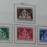 GERMANIA (REICH) 1936 – MAMA SI COPIL, serie nestampilata FARA GUMA, A48
