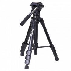 VT-2000 Trepied video cap fluid panoramic - Trepied Aparat Foto