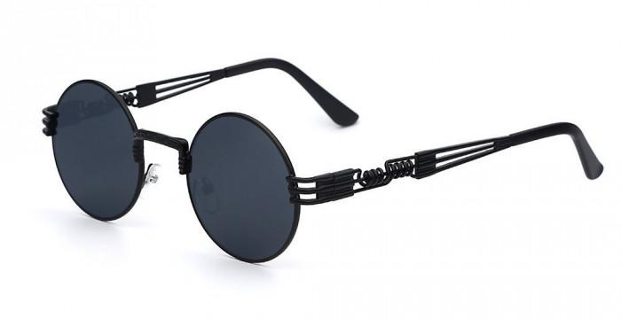 Ochelari Soare Retro / Vintage Steampunk Style - UV400 , Metalici - Model 4