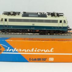 LOCOMOTIVA ROCO BR 110 SCARA HO 1 : 87 - Macheta Feroviara, Locomotive