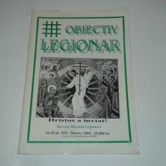 REVISTA OBIECTIV LEGIONAR martie 2004 - Revista culturale