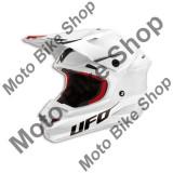MBS Casca motocross Ufo Interceptor Prime, fibra de carbon, alb, XXL, Cod Produs: HE015XXL