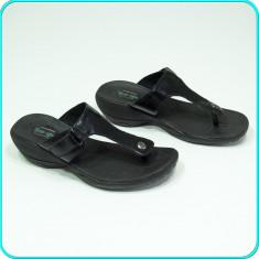 DE FIRMA → Sandale / saboti dama, comozi, aerisiti, SKETCHERS → femei | nr. 38 - Sandale dama Skechers, Culoare: Negru