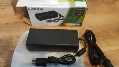 Adaptor incarcator alimentator XBOX360 xbox 360 slim nou foto