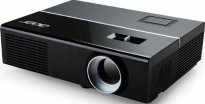 Proiector ACER P1273B, DLP 3D, 1920x1080, 17000:1, 3000 lumeni, HDMI, composite video, RJ-45, S-video, USB, boxe foto