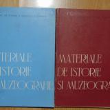 MATERIALE DE ISTORIE SI MUZEOGRAFIE  2 VOL. FLORIAN GEORGESCU