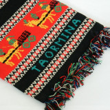 Traista TAORMINA culori vii / geanta traditionala, Culoare: Negru