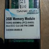 Memorie DDR2 2GB noua Dane-Elec PREMIUM PC Desktop - Memorie RAM