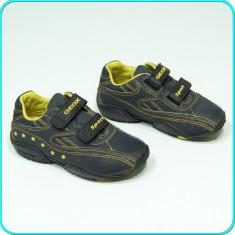 DE FIRMA → Pantofi sport / adidasi, piele, comozi, GEOX → baieti | nr. 29 - Pantofi copii Geox, Culoare: Bleumarin, Piele naturala