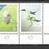 Slovenia.2003 Fructe-streif cu vigneta MS.669 - Timbre straine, Nestampilat