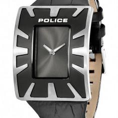 Ceas Police negru Vapor X - Ceas barbatesc Police, Lux - sport, Quartz, Otel, Piele, Analog