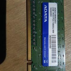 Memorie DDR3 ADATA AD63I1B0823EV 2GB PC-10600 PC Desktop - Memorie RAM