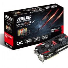 Placa video ASUS AMD R9290-DC2OC-4GD5, R9 290, PCI-E, 4096MB GDDR5, 512 bit, 1000 MHz, 5040 MHz, 2*DVI, HDMI, DP, DirectCU II, FAN bulk - Placa video PC Asus, PCI Express, 3 GB, Ati