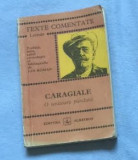 O scrisoare pierduta  / Caragiale Texte comentate