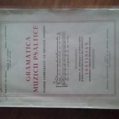 Gramatica muzicii psaltice 1951 / R2P2F - Carti bisericesti