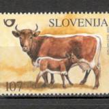 Slovenia.2003 Animale de casa MS.671 - Timbre straine, Nestampilat