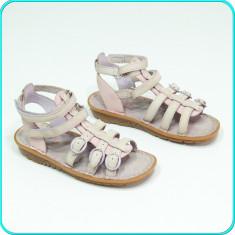 DE FIRMA → Sandale din piele, comode aerisite, calitate ELEFANTEN → fete | nr 28 - Sandale copii Elefanten, Culoare: Roz, Piele naturala