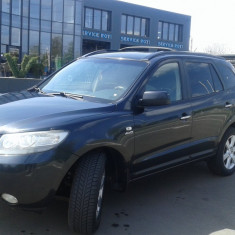 Hyundai Santa Fe, 4×4, biclimatronic, unic proprietar, negru sidefat, An Fabricatie: 2007, Motorina/Diesel, 176000 km, 2200 cmc