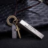 Pandantiv / Colier / Lantisor - DIESEL - Lant Piele Ajustabil - Model 1 - Pandantiv fashion
