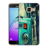 Husa Samsung Galaxy A7 2016 A710 Silicon Gel Tpu Model Vintage Car