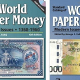 Catalog of World Paper Money, doua vol.:1368-1960 si 1961-prezent (ed.12 si 16)