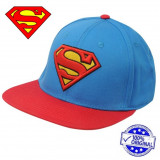 Sapca Character Superman Flat Snapback originala - ajustabila, Marime universala, Din imagine