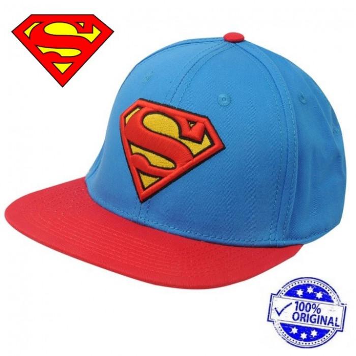 Sapca Character Superman Flat Snapback originala - ajustabila