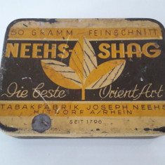 cutie veche de tutun