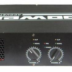 Vand amplificator de putere profesional Power Acoustics ST900 - Amplificator audio