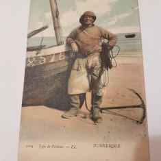 Carte postala franta/ dunkerque/ color, Necirculata, Printata