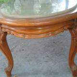 Masuta din lemn cu blat din Onix masiv