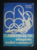 ROMEO VILARA - MONTREAL 1976, OLIMPIADA NADIEI COMANECI