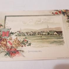 Carte postala germania/ lito color, Necirculata, Printata