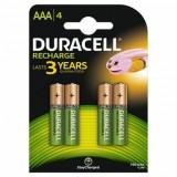 DURACELL ACUMULATORI AAAK4 750mAh (5000394045019) - Baterie Aparat foto