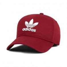 Sapca Adidas Originals Burgundy - Anglia - Reglabila - Bumbac - Detalii anunt - Sapca Barbati Adidas, Marime: Marime universala, Culoare: Visiniu