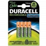 DURACELL ACUMULATORI AAAK4 800mAh (5000394045118) - Baterie Aparat foto