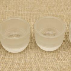 Lot de patru suporturi de oua - Vesela sticla