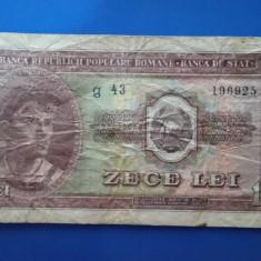 Bancnota Romania - 10 lei 1952 g43 196925 - Bancnota romaneasca