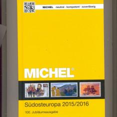 Catalog MICHEL vol 4 =2015/2016-ROMANIA-GRECIA-TURCIA-BULGARIA-CIPRU