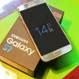 Telefon Samsung Galaxy S7 Gold, Auriu, 32GB, Neblocat, Single SIM