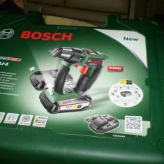 Bormasina Bosch PSR18, 2 LI cu 2 acumulatori