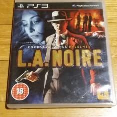 PS3 L.A. Noire - joc original by WADDER - Jocuri PS3 Rockstar Games, Actiune, 18+, Single player