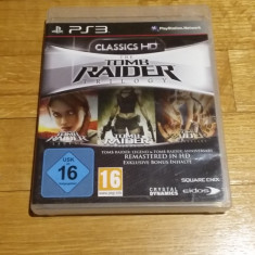 PS3 The Tomb Raider Trilogy HD - joc original by WADDER - Jocuri PS3 Eidos, Actiune, 16+, Single player